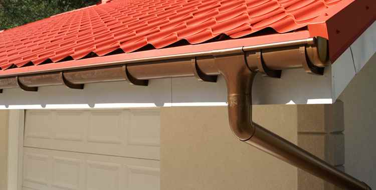 Roof and guttering wash top